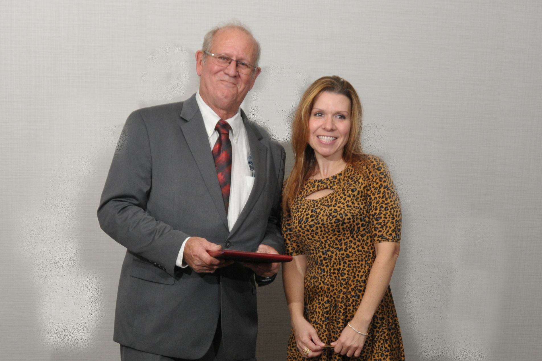 Adrienne Vrabel with PHA President Tom Knorr