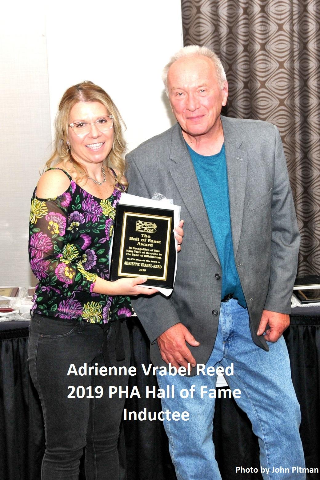 Adrienne Reed HOF