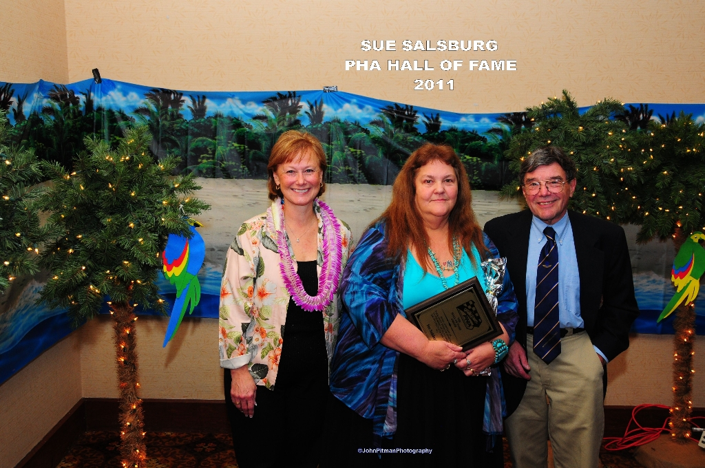 Sue Salsburg - Hall Of Fame Inductee